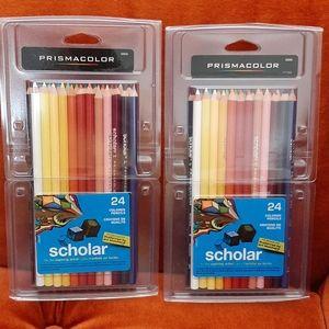 Prismacolor pencils (2 packs)
